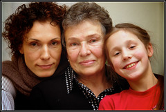 2 mothers / 2 daughters (rolands.lakis) Tags: family daughter mother rolandslakis borderfx