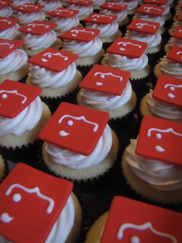 Corporate Logo Cupcakes
