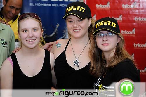 Las chicas canadienses que correran en el Autodromo Mobil3