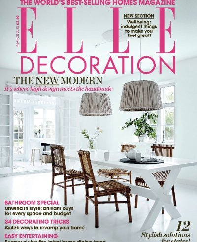 Elle Decoration UK The White House AphroChic Modern