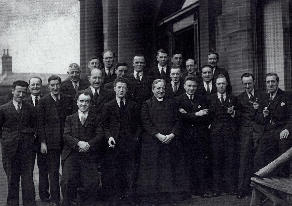 John McGarigle, top middle, Craighead, 1930s.