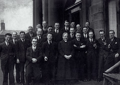 Image titled John McGarigle, top middle, Craighead, 1930s.