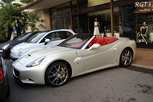 Ferrari California 2010 White. Ferrari California