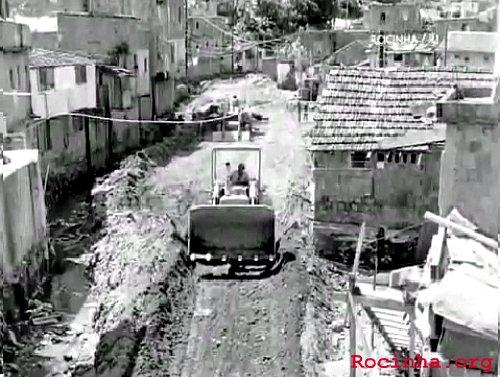 Rocinha antiga. Época das remoções, entre os anos 60/70 - Foto: Arquivo Rocinha.org