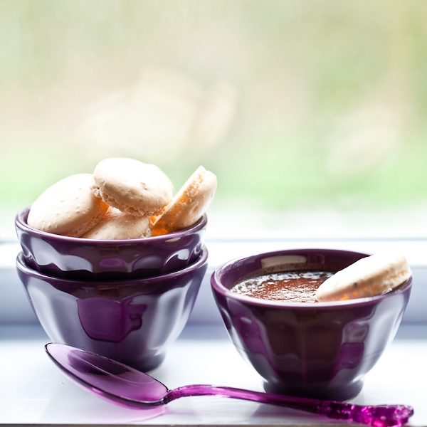 Chocolate Whiskey Pots de Creme