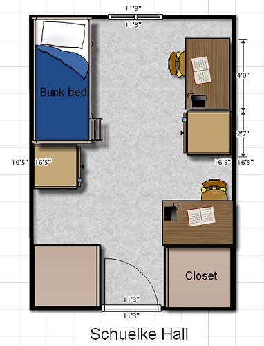 Schuelke Hall floor plan