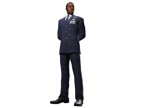 Iron Man 2 - James Rhodes Uniform