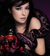 Publicité Dior Poison (Monica Bellucci)