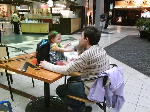 Daddy/Daughter bonding time
