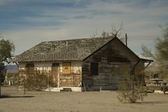 Old Homestead in the Mojave (Jason Pier in DC) Tags: california ca abandoned nikon desert hole hut mojave homestead d200 desolate vr jackrabbit 24120mm 24120