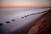 Blyth Beach High Tide (Mark Innes) Tags: ocean sea beach landscape high sand tide timeexposure northumberland blocks blyth canon24105mm 10stop canon5dmk2 5dm2 wardefense