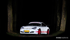 Porsche 996 GT3 RS (marknauta.nl) Tags: night woods nikon mark flash 911 multipleexposure porsche speedlight trigger 80200mm 996 gt3 d300 nauta gt3rs sb24 strobist marknautanl marknauta rf602