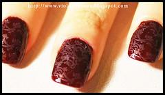 Damask Nail Art (Violet LeBeaux) Tags: art pattern princess nail violet nails jewels rhinestone hime false overthetop syle japanesestyle damask gyaru lebeaux konad himegyaru konadstamper japanesenailart  konadnailart violetlebeaux wwwvioletlebeauxcom