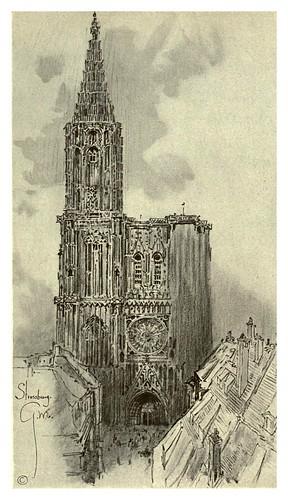 019- Catedral de Estrasburgo-Alsace-Lorraine-1918- Edwards George Wharton