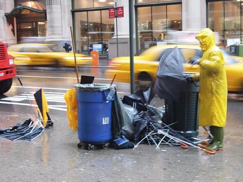Umbrella graveyad