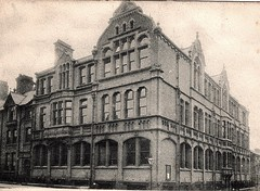 Liverpool c 1900 Postcard - Pupil Teachers' College, Clarence Street (1) - The Building (ronramstew) Tags: old uk england history college liverpool training vintage education postcard historic teacher 1900 teaching communitycollege demolished pupil mersey 1900s citycollege merseyside clarencestreet pupilteacherscollege pupilteachercollege