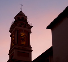 Steeple of St Michael and St Sebastian / Campanario de S Miguel y S Sebastian (jovidoes) Tags: art luz valencia photo interesting flickr gallery foto photographer arte photos alba top jardin iglesia explore amanecer botanico silueta tejado flu photostream belleza campanario visin quart percepcion finearts equilibrio armona smiguel tonos suaves sellection expolore ssebastian mywinners jovidoes joaquinvicente joaquinvicenteespilluch joaquinespi joaquinespilluch