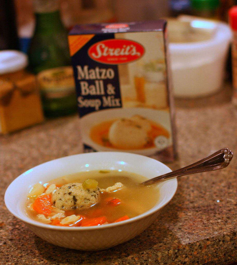 Pressure Cooker Matzo Ball Soup
