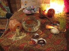 "Haft-Sin in Persian New Year ""Nowruz"" (Yuichi Kaneko) Tags: persian spring goldfish iran persia newyear sumac celebration iranian happynewyear seer haftsin saunter sib springequinox norooz norouz nowrooz persiannewyear nowruz noruz haftseen sizdahbedar samanu sabzi sumaq iraniannewyear sonbol senjed serkeh sekeh golesangam mastommastom"