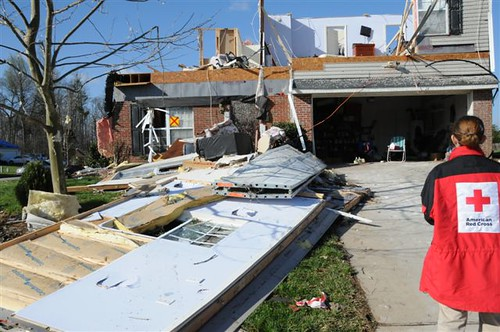 North Carolina Tornado 2010 by American Red Cross.