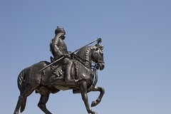 Maharana Pratap and his brave horse, Chetak