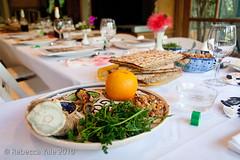 RYALE_Passover201013 (Yale_Rebecca) Tags: party holiday dinner losangeles celebration jew jewish service tradition passover pesah sedar rebeccayale sedartable