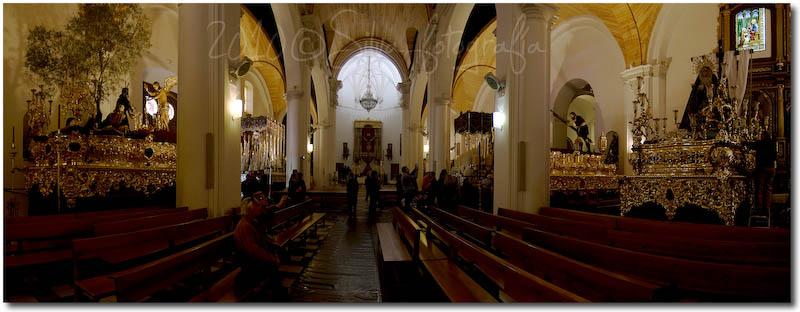 Panorámica Interiores de la Concepción