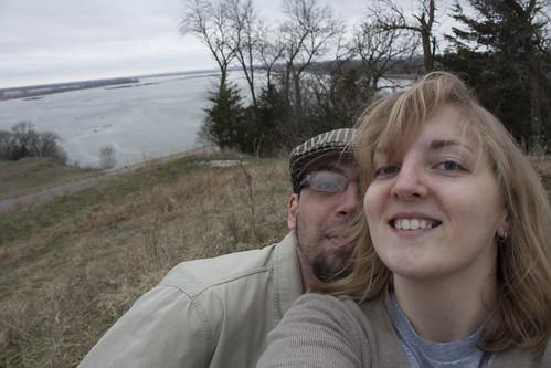 Jason and me in Nebraska