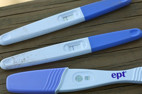 old pregnancy tests, no it's not gross.