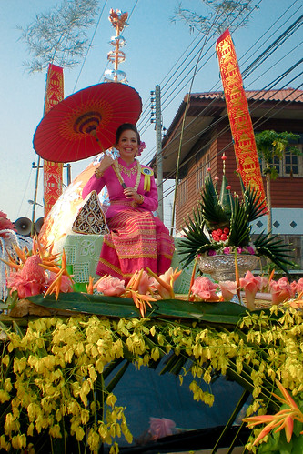 Songkran in Uttaradit