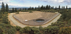 A Dangerous Distant Orifice (Jeff Boyd) Tags: california water pool concrete weird sink hiking pipes lakes drain valve shasta government exploration surge redding keswick drainage blm springcreek whiskeytown penstock shastacounty surgebasin