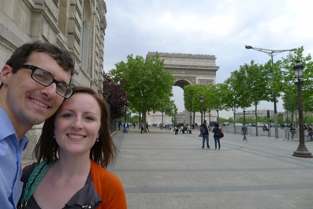 The Heards at Arc de Triomphe