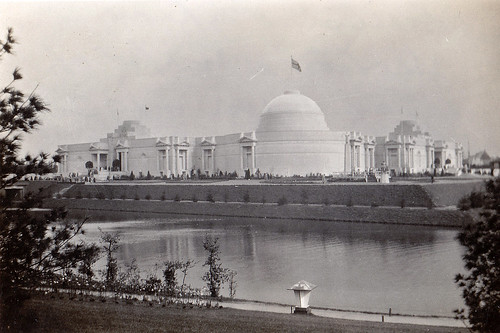 British Empire pavillion. Colonial Exhibition, Antwerp, Belgium, 1930.