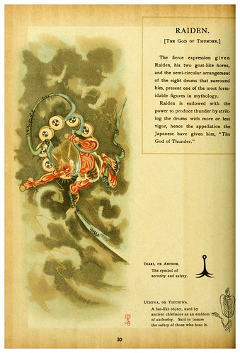 006-El dios del trueno-Mythological Japan  the symbolisms of mythology in relation to Japanese art (1902)- Francis Alexander Otto