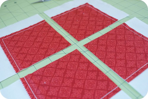 synchronized squares quilt along: making
