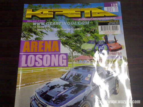 Wordless Wednesday #4 : Ulat Majalah Kereta