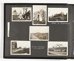 Walt Kuhn's photograph album of Nova Scotia, 1912