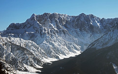 Planica valley and Mojstrovke range