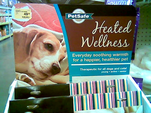 Dog on Product Packaging