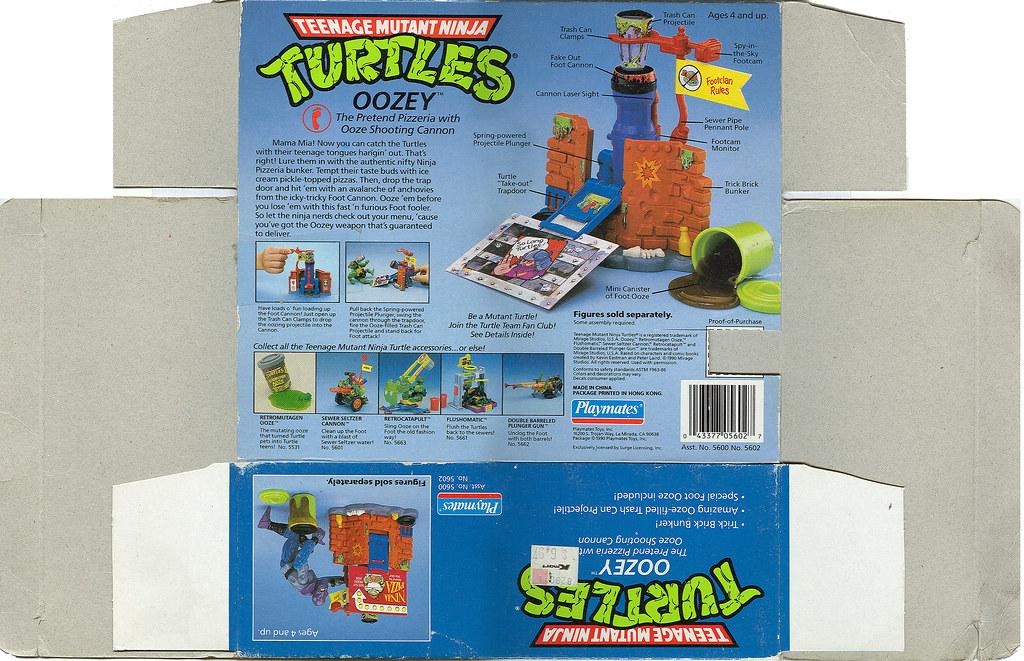 TEENAGE MUTANT NINJA TURTLES :: OOZEY ii (( 1990 ))