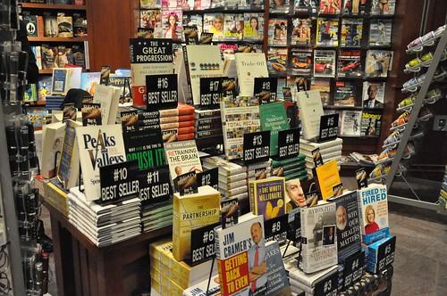 Dayton Ohio Airport Bestseller Book Rack