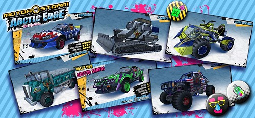 MotorStorm Arctic Edge CustomVehicles