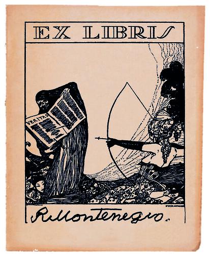 Ex libris de Roberto Montenegro