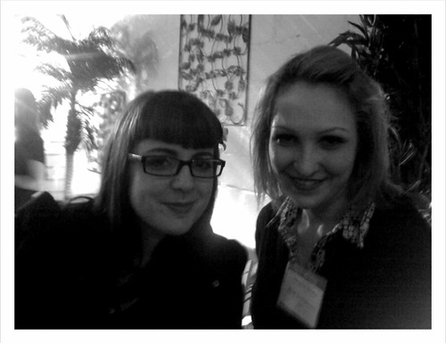 @wankergirl & @damiella at some media event