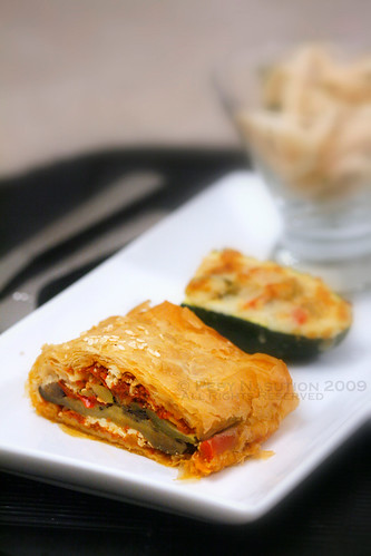 Roasted Vegetable Pastry