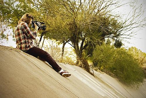 Zak Filming Tucson Spot