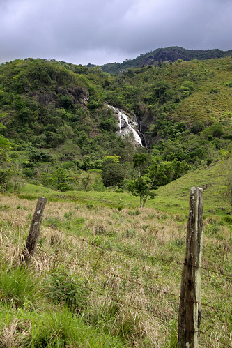 bocaina brazil fence forest MG rocks trees vegetation travel waterfall