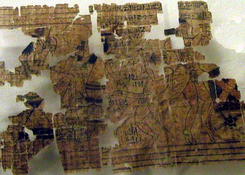 Erotic Papyrus, Turin Museum, 2003