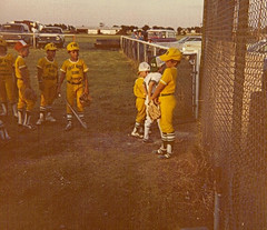Summer 1980 (funny strange or funny ha ha) Tags: oklahoma baseball little first bank diamond national ok hooker league 73945