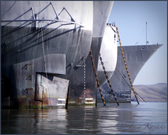 Mothballed (Lisa Ouellette) Tags: waiting ship honor rusting benicia veteransday bask decomissioned ghostfleet